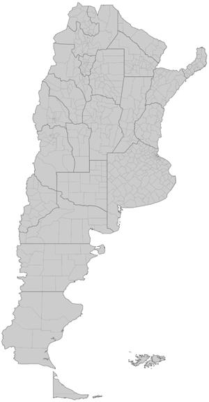 Mapa de Seccionales Setia