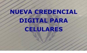 <p>LUEGO DE ACCEDER DESDE SU CELULAR SELECCIONE AÑADIR A PANTALLA DE INICIO. CREDENCIAL DIGITAL</p>